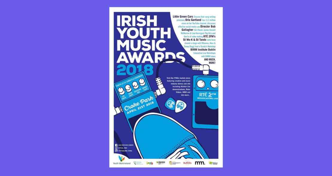 , Irish Youth Music Awards announce 2018 education hub lineup including Little Green Cars, Bob Gallagher, Orla Gartland and more
