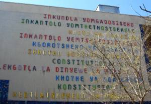 South Africa Constitutional Court - all eleven languages