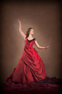 Raphaella in Red