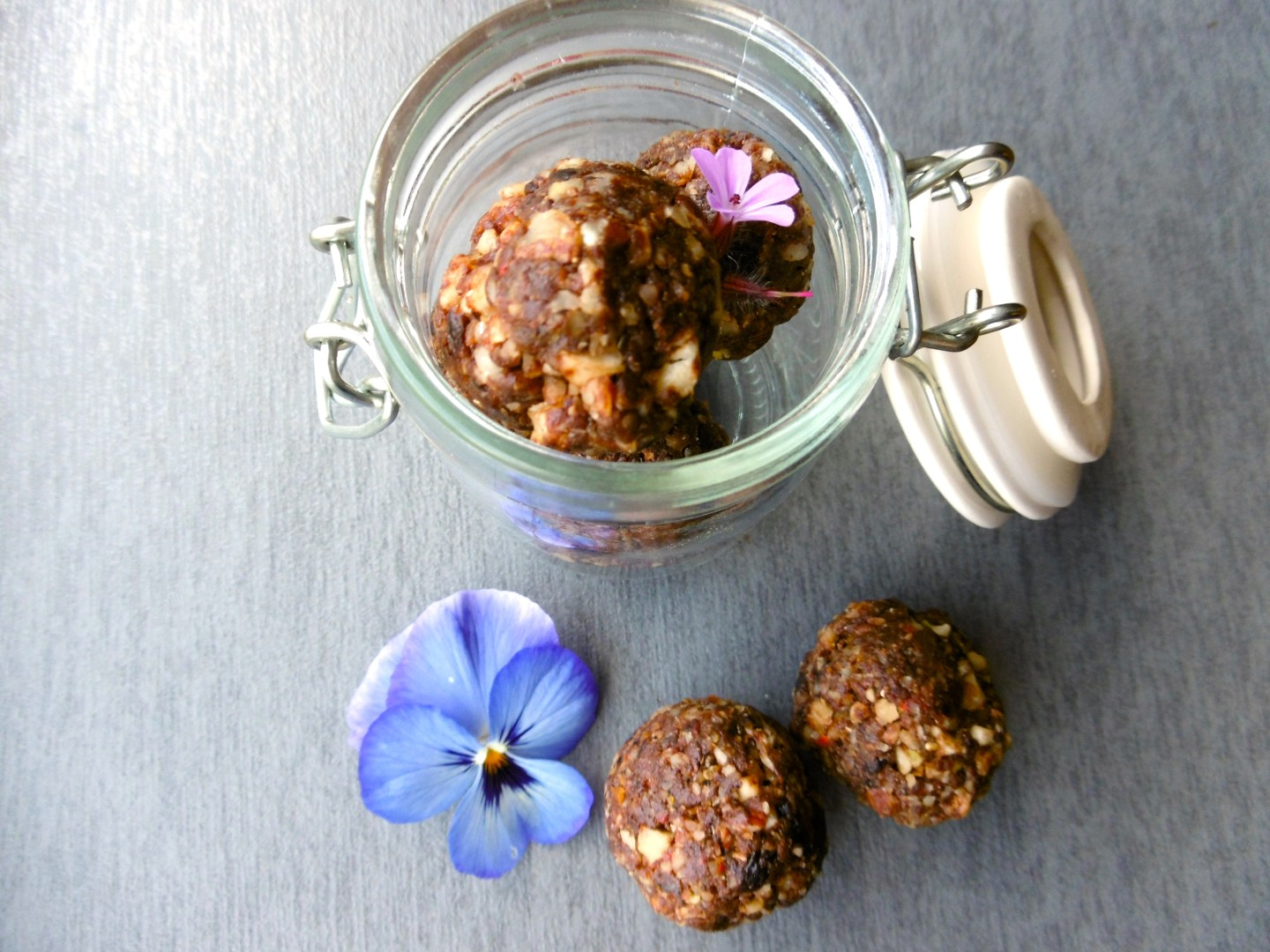 Chocolate Orange Protein Balls