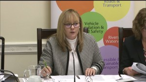 Committee Chairperson, Michelle McIlveen, during the Infrastructure Committee meeting on 21 January 2020.