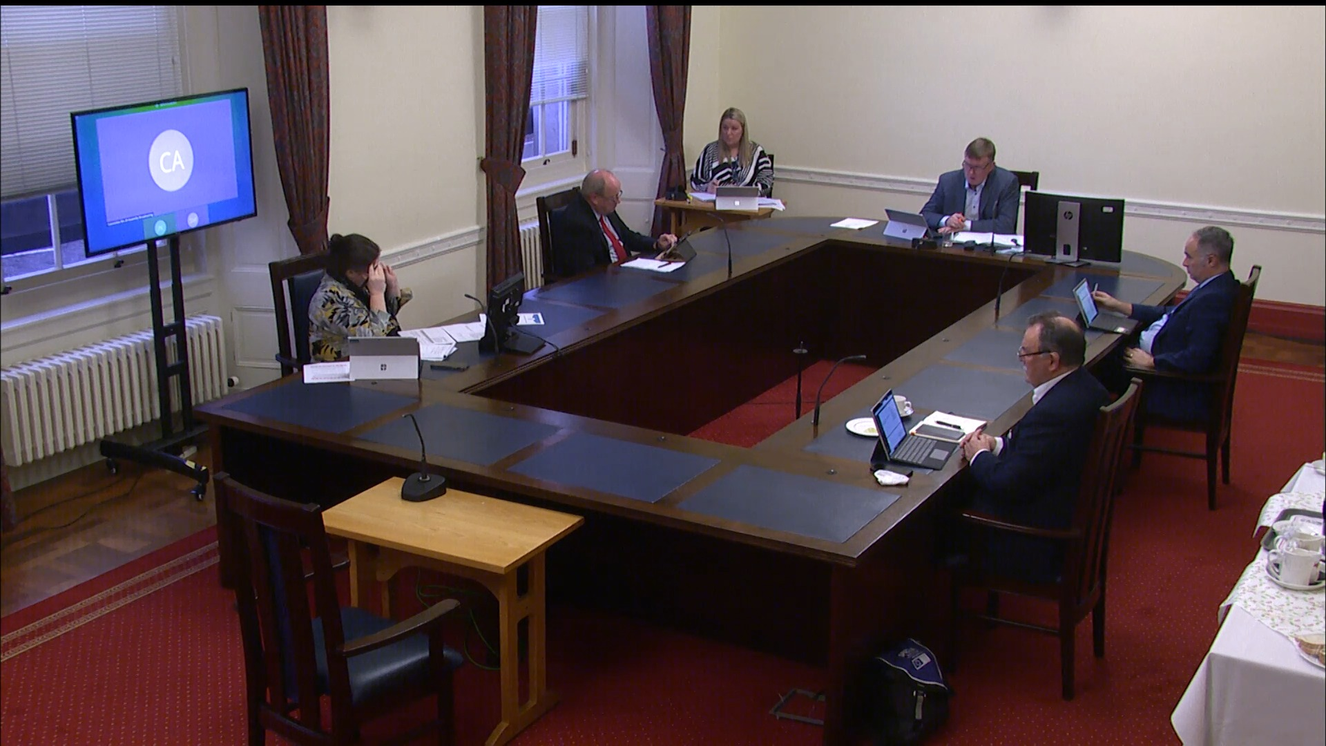 Assembly and Executive Review Committee - Wednesday 16th December 2020
