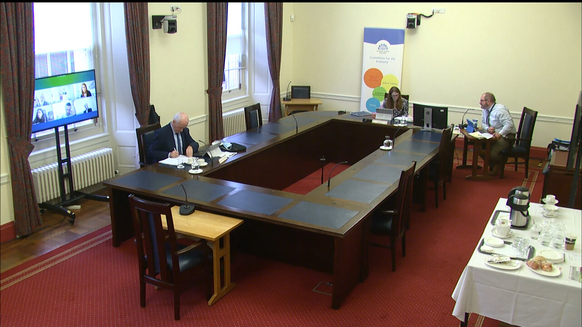 Economy Committee Meeting - Wednesday 27th January 2021