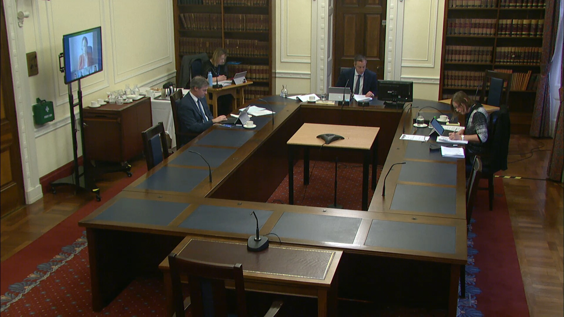 Justice Committee Meeting - Thursday 25th March 2021