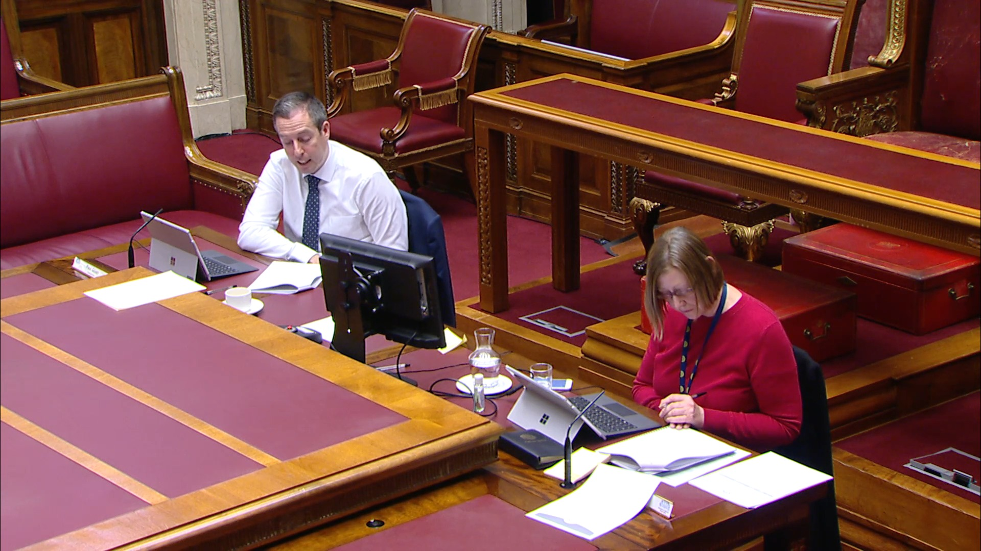 Justice Committee Meeting - Thursday 4th March 2021