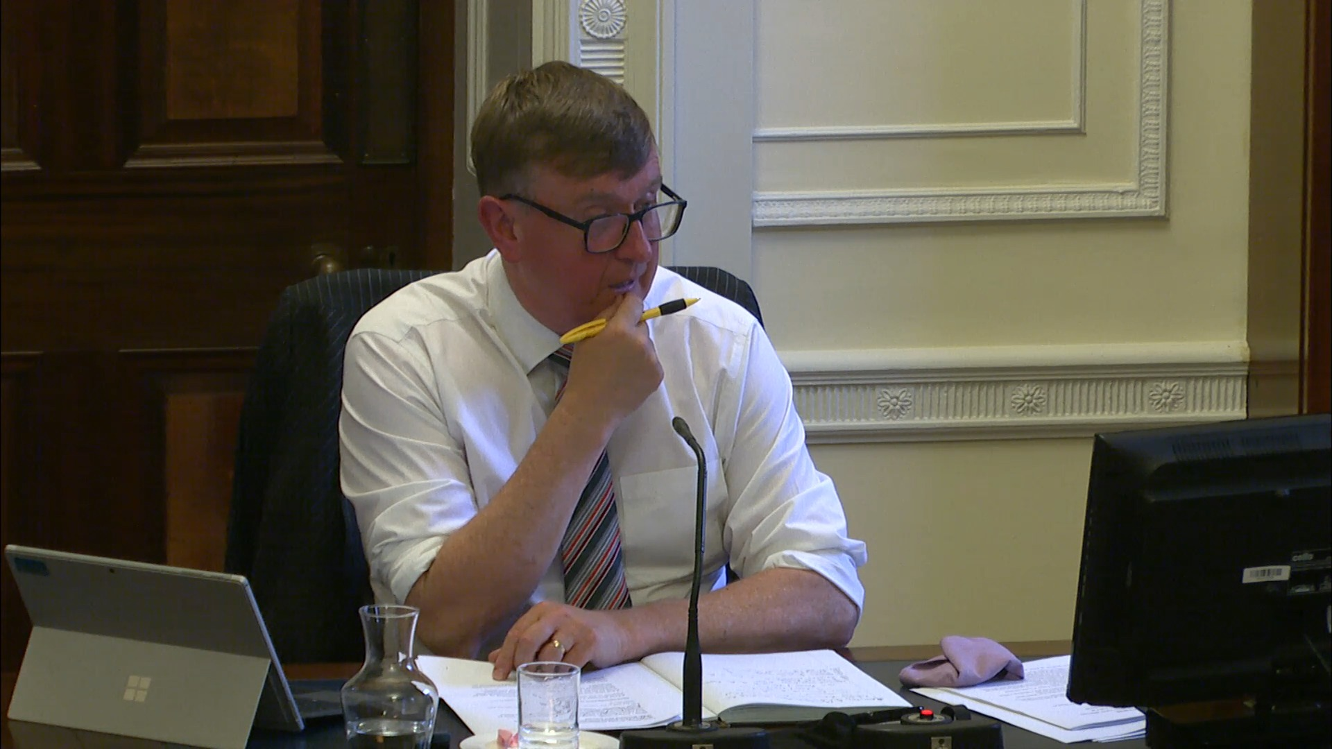 Concurrent Committee Justice and Health Meeting - Thursday 1st July 2021