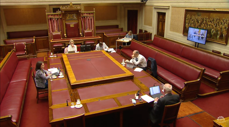 Committee Justice Meeting Thursday 30 September 2021