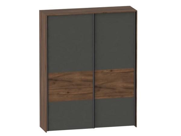 Шкаф с раздвижными дверями Глазго (2 двери) за 43560 ...