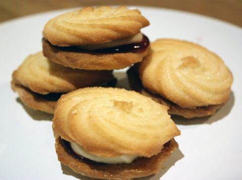 viennese whirl biscuit