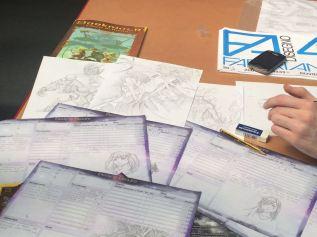 Qualche altra foto degli stupendi artwork estemporanei del nostro Orlo la trovate nella gallery qui sotto :)