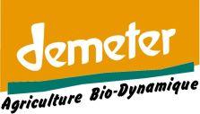 "Logo certification ""DEMETER"". Un mode biodynamique."