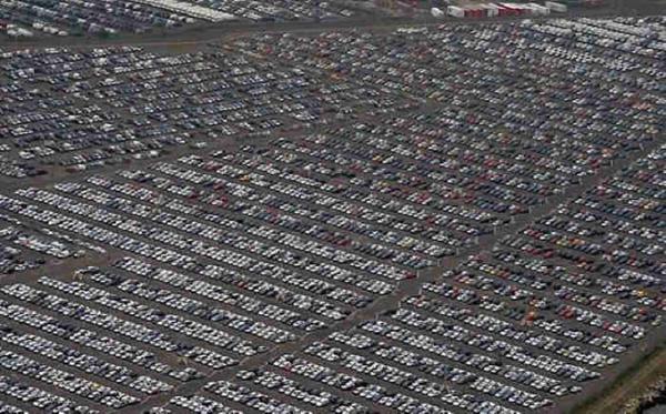auto vooraad en verkopen amerika