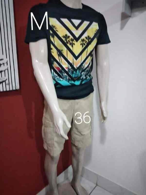 Short y camiseta