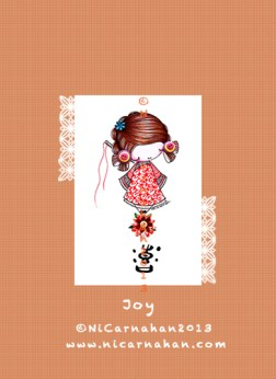 ©Ni Carnahan 2013. All Rights Reserved. Asian Button Girl 06 Joy 2013