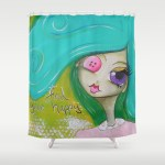 soceity6 shower curtain by Nicci Dot CA