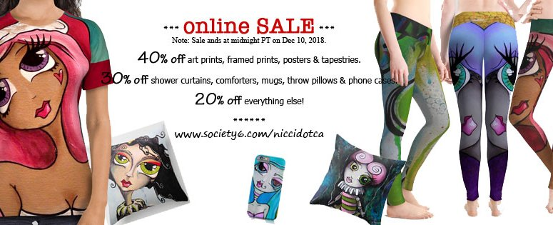 BIG online SALE until midnight TONIGHT!