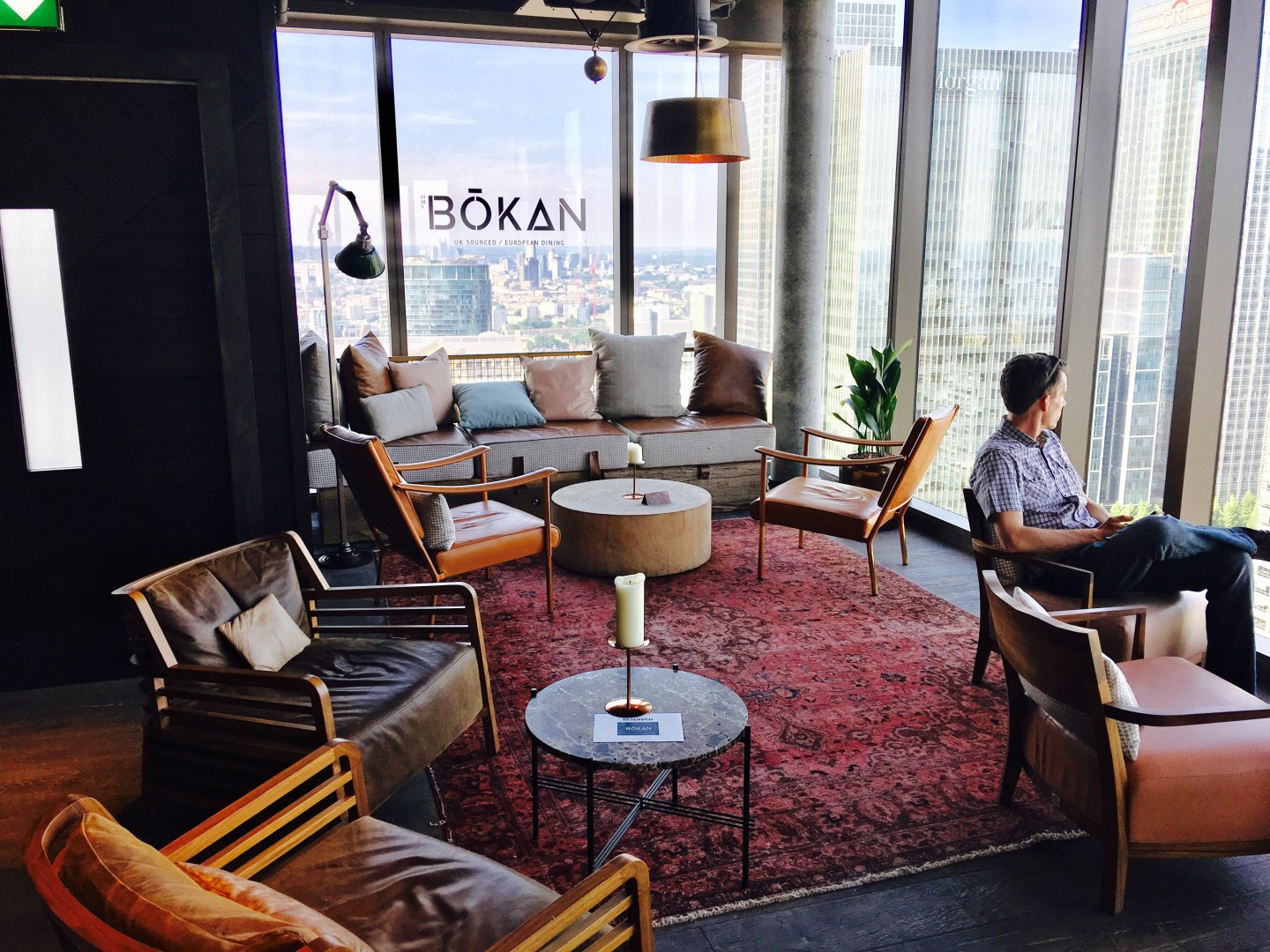 BOKAN: A Canary Wharf Rooftop Delight