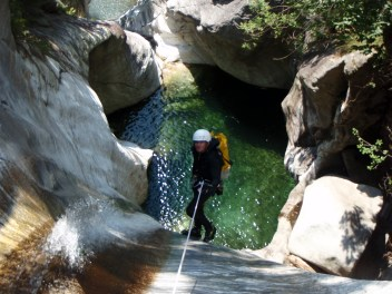 canyoning dans le tessin
