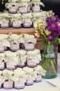 Regalo invitados boda violeta lila purpura