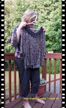 May 30 - another new top I forgot to get a photo of