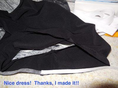 Nice dress!  Thanks, I made it!!