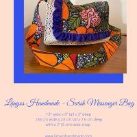 Lányos Swish© Messenger Bag II - Sewing Pattern