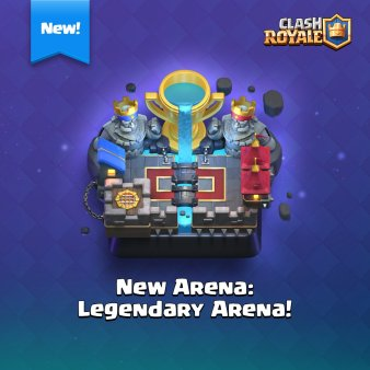 To this new amazing arena!