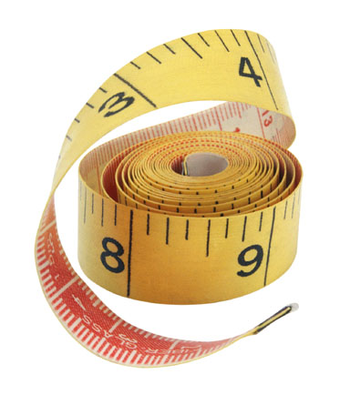 I can always trust you, handy measuring tape!