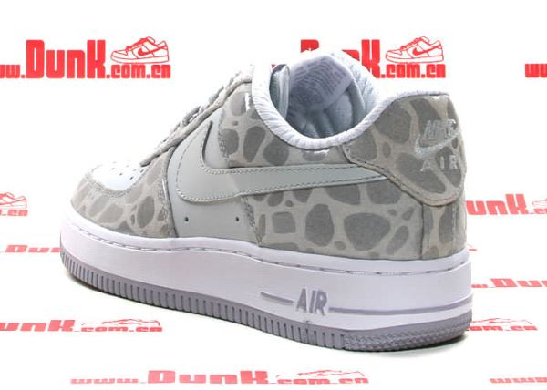 Nike Air Force 1 Grey Leather High Top Shoesternational College