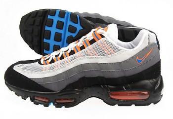 Nike Air Max 95 Black/Neutral Blue/Orange/Grey