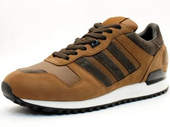 brand new 666dc 22b8e Adidas ZX 700 Brown/Dark Brown | Nice Kicks