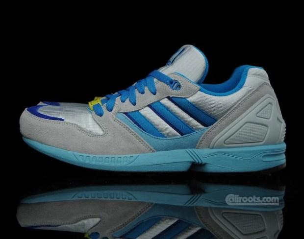621229721c5e7 adidas Originals ZX 5000 Grey Blue