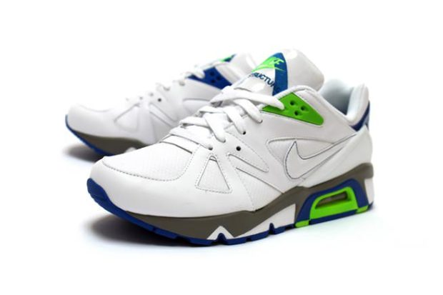98bcec10bf55 Nike Air Structure Triax  91 White Green Blade-Blue ...