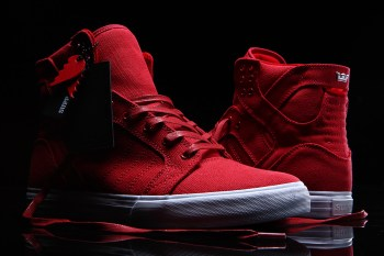"""552f346b03 We have seen just about every brand's upcoming Valentine's Day inspired  releases; yet, Supra's Skytop """"Heartbreaker"""" is undoubtedly one of the  better ..."""