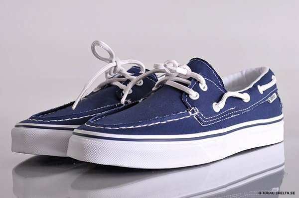 Barco Vans Navytrue Nice Del White Zapato Kicks qqrBOEx