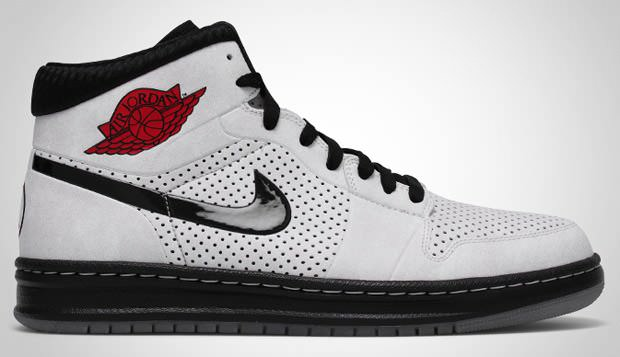 ... Air Jordan Alpha 1 - White Black-Varsity Red 682e7a13bb92