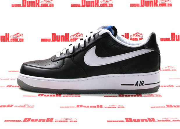release date: fca00 3d76e Futura x Nike Air Force 1 Low Black/White
