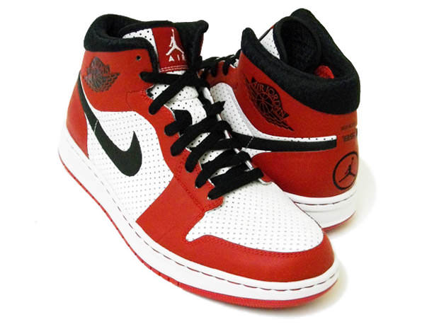 size 40 48724 cbe1d Air Jordan Alpha 1 White Black-Varsity Red