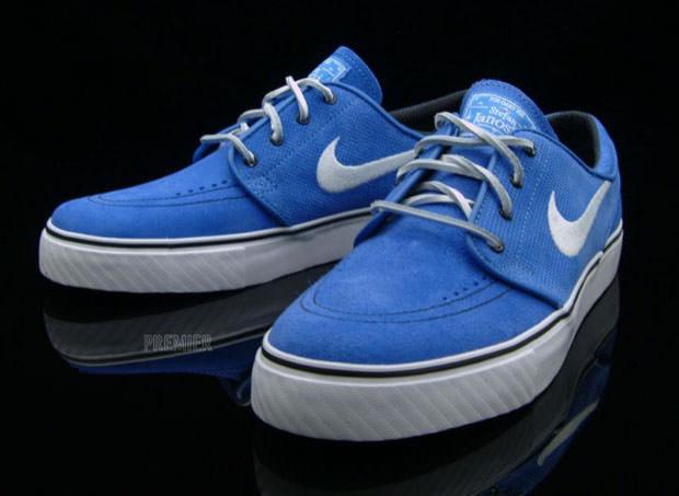 bdbd4bafdff3 Nike SB Zoom Stefan Janoski Pacific Blue White