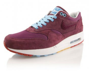 Parra x Nike Air Max 1 Burgundy Detailed Photos