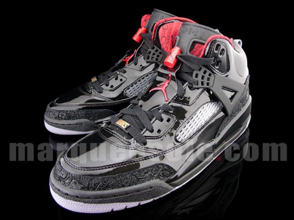 official photos d876c f8997 Air Jordan Spiz ike Black Varsity Red-Stealth
