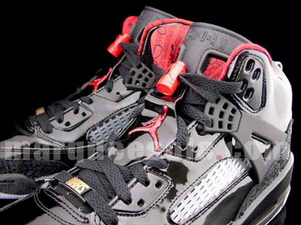 Air Jordan Spiz'ike Black/Varsity Red-Stealth