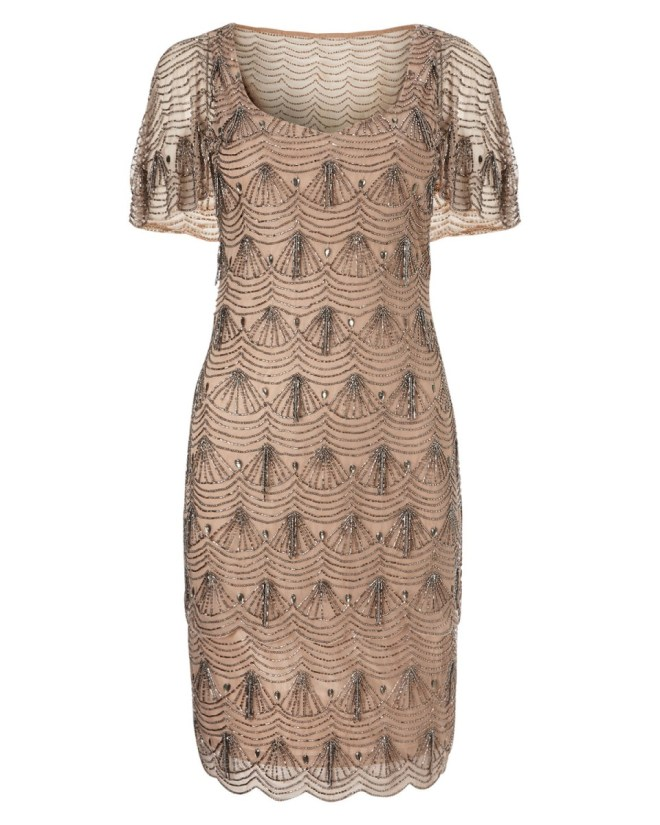 Colby Beaded Dress by Phase Eight