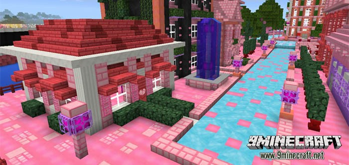 Girl Houses Minecraft Cute