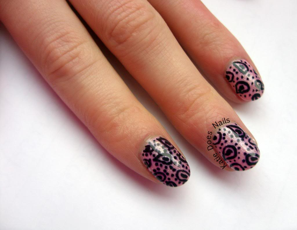 6 Nail Art Pen Designs In