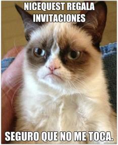 Concurso Nicequest: Gato Grumpy por Jose Fuentes