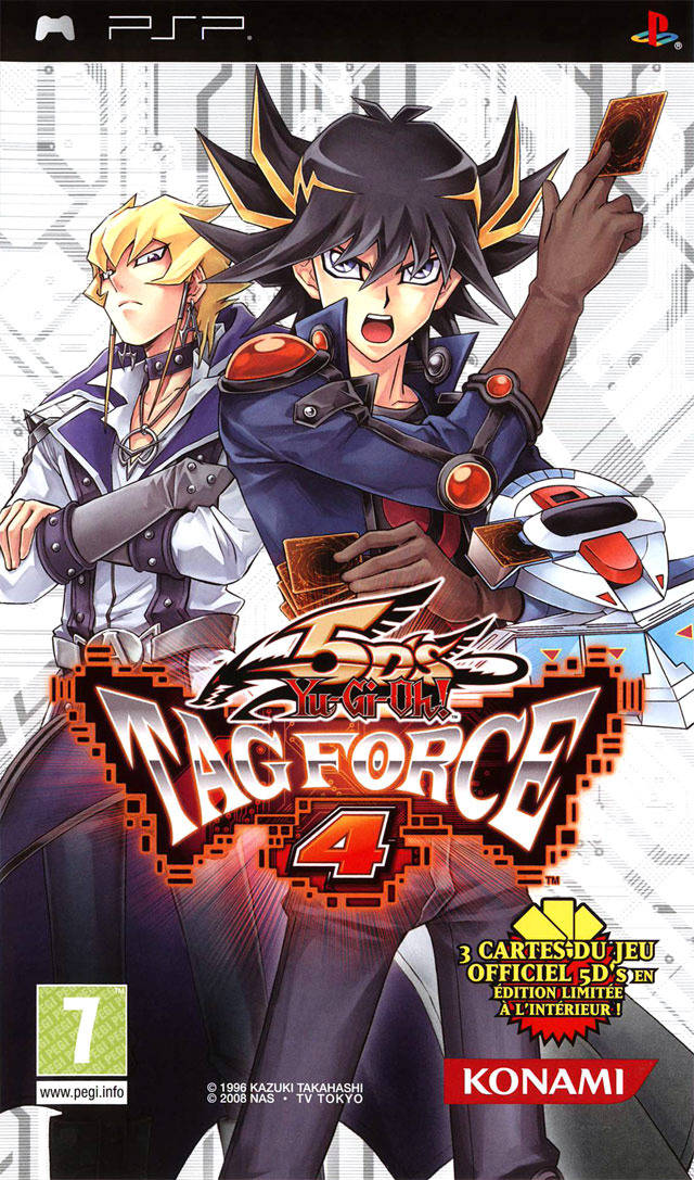 Yu Gi Oh 5d S Tag Force 4 Europe Psp Iso Nicerom Com