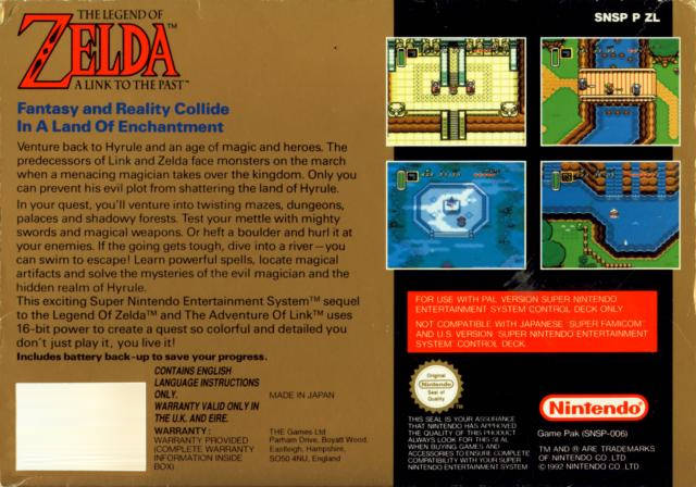 The Legend of Zelda: A Link to the Past (Germany) SNES ROM - NiceROM