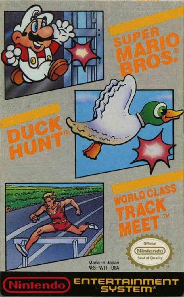Super Mario Bros  / Duck Hunt / World Class Track Meet (USA