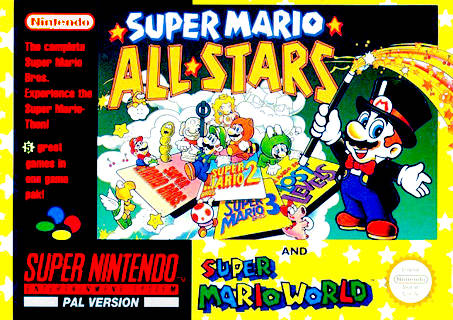 Super Mario All Stars Super Mario World Europe Snes Rom